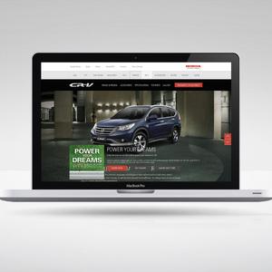 Honda CRV Micro Site